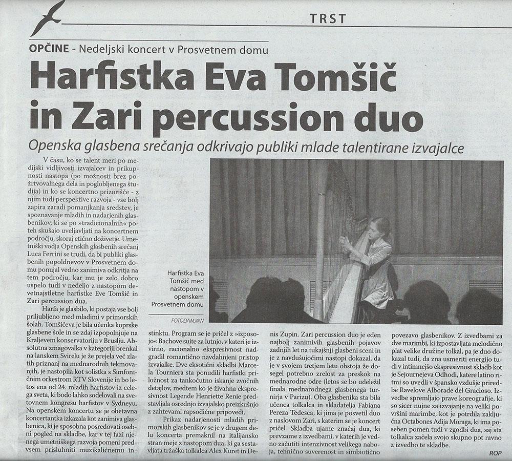 Primorski Dnevnik 25.02.2014