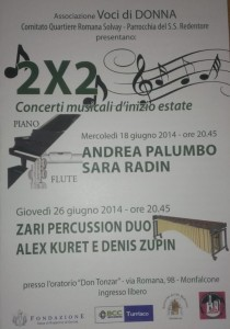 zari percussion duo concerto monfalcone